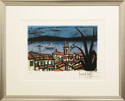 Bernard Buffet, 'Blick auf Saint Tropez - View of Saint Tropez', 1981