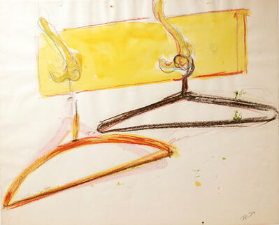 Norbert Tadeusz, 'O. T. (Garderobe mit Kleiderbügeln)', 1979