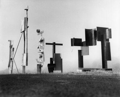 David Smith (1906-1965), 'March Sentinel, Two Box Structure, Two Circle Sentinel, Zig II, Zig III', 1961
