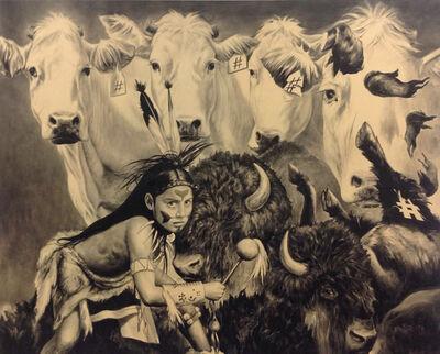 Reinier Gamboa, 'White Bull', 2015