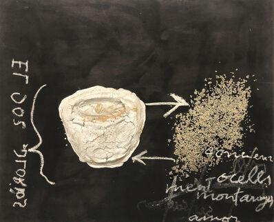 Antoni Tàpies, 'El cos gloriós', 2002