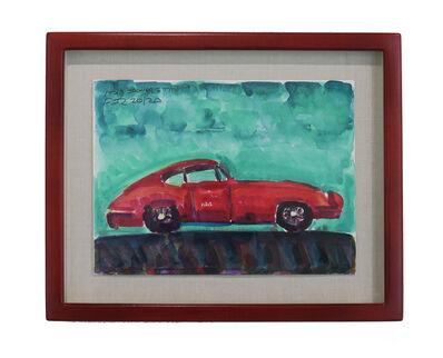 Frank Romero, '1961 Jaguar E Type', 2020