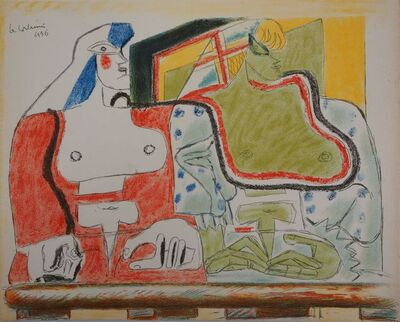 Le Corbusier, 'Two Spaniards on the Balcony', 1938
