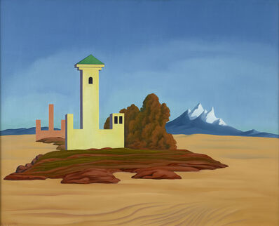 George Copeland Ault, 'Desert Towers', 1937