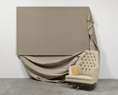 Analia Saban, 'Claim (from Chair)', 2013