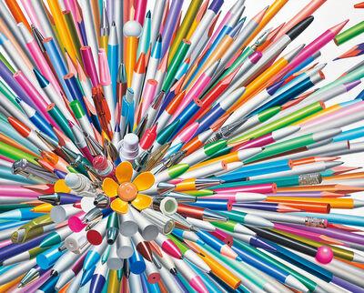 Hong Kyoung Tack, 'Pens', 2016