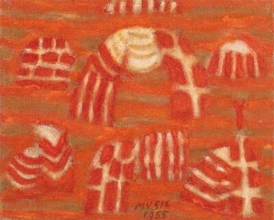 Zoran Antonio Mušič, 'Paisannes Des Iles', 1955