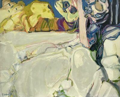 Gabriel Godard, 'Arbres et rochers', 1968