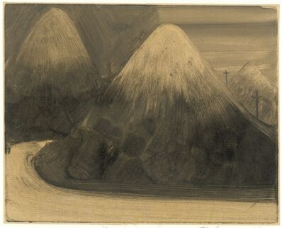 Zhang Lei 张雷, 'Three Mountains with Earth 三座土山 ', 2014