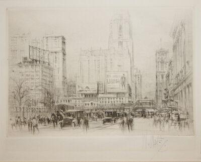 William Walcot, 'Park Avenue', 1923