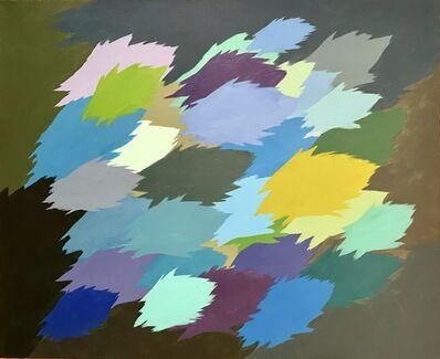 Edgar Heap of Birds, 'Neuf Painting, no. 4', 2012