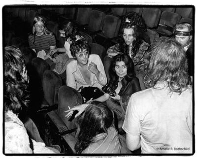 Amalie R. Rothschild, Jr., 'John and Yoko at Fillmore East, June 5, 1971', 1971