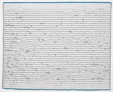 Solveig Aalberg, 'Energy lines - blue', 2012
