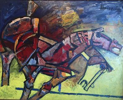 M. F. Husain, 'Horses', 1999