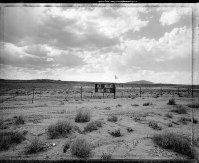 Mark Klett, 'Sign near Cameron, Navajo Reservation, 8/1/90', 1990