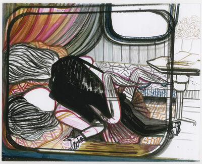 Emma Talbot, 'Anais Nins Narrow Boat Night Lovers', 2012