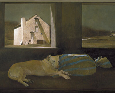 Andrew Wyeth, 'Night Sleeper', 1979
