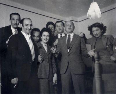 "Kati Horna, '""Boda de Leonora Carrington""', 1946"