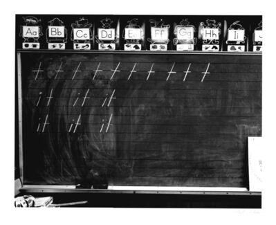 Catherine Wagner, 'Mass Landing Elementary School, First Grade Classroom', 1986