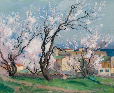 Henri Lebasque, 'Collioure, les amandiers en fleurs'