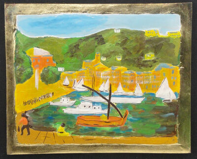 Michele Cascella, 'Portofino boats', Second half of 20th century