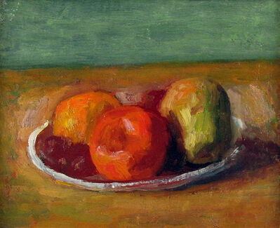 Robert Philipp, 'Fruit on a Plate', 1960