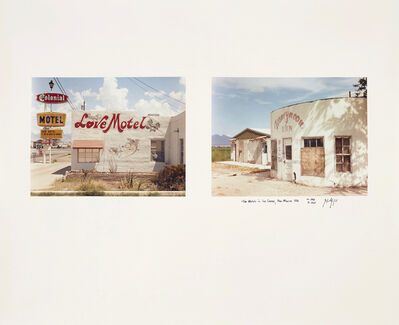 Joel Sternfeld, 'Two Motels in Las Cruces, New Mexico, 1986', 1986
