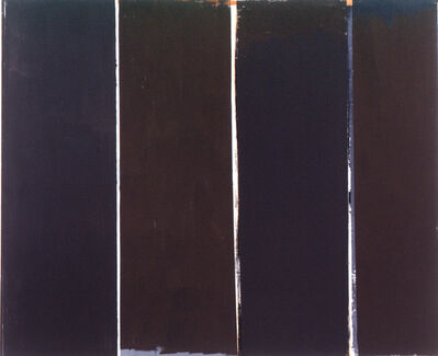 Alan Green, 'Four Browns', 1974