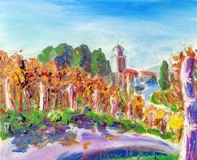 Norma de Saint Picman, 'Water paintings summer 2019 - plein air in situ paintings, Sveto, Karst', 2019