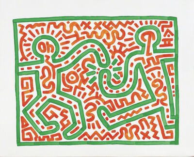 Keith Haring, 'Untitled, 1983', 1983
