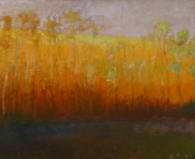 Wolf Kahn, 'Yellow Gold', 1991