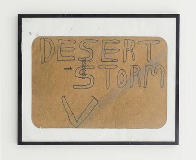 Alicia McCarthy, 'Desert Storm', 2018