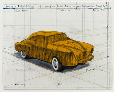 Christo and Jeanne-Claude, 'Wrapped Automobile, Project for 1950 Studebaker Champion,', 2015