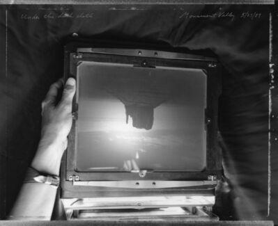 Mark Klett, 'Under The Dark Cloth '