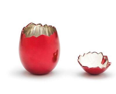 Jeff Koons, 'Cracked Egg (Red)', 2008