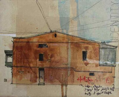 "Levan Mindiashvili, '""Urban Identities"" N3', 2013"