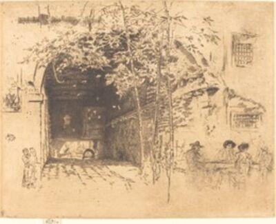 James Abbott McNeill Whistler, 'The Traghetto, No.II', 1880