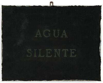 Pier Paolo Calzolari, 'Agua silente', 1980's