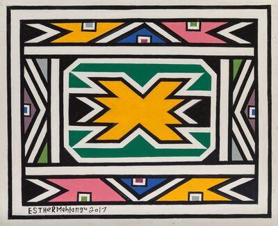 Esther Mahlangu, 'Untitled (2 works)', 2017