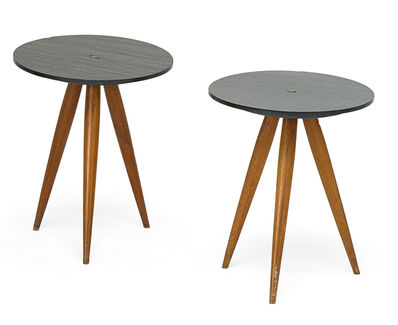 Phil Powell, 'Pair of side tables, New Hope, PA', 1960s