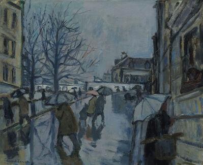 Bernard Lamotte, 'Montmartre in the Rain', 20th Century