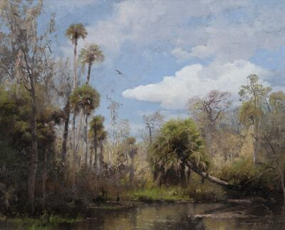 Herman Herzog, 'Florida Palms', ca. 1888