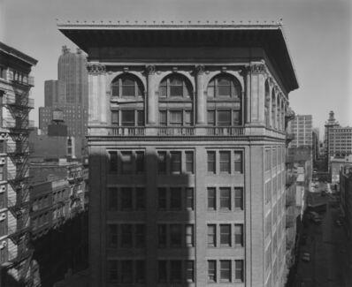 Bevan Davies, 'Hudson and Franklin Streets, New York', 1977