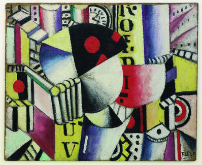 Fernand Léger, 'L'horloge (The Clock)', 1918