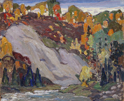 Franklin Carmichael, 'UNTITLED - LATE EVENING, DON VALLEY', ca. 1920