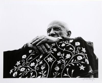 Lucien Clergue, 'Picasso Preside la Corrida - Frejus, 1962', 1962