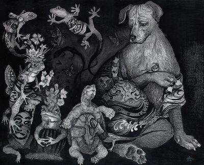 Maiko Kitagawa, 'Unwelcome guest', 2020