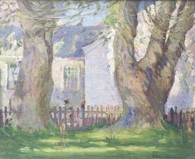 Edith Lake Wilkinson, 'Provincetown Back Yard', ca. 1916