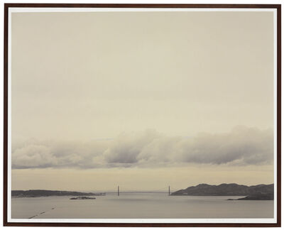Richard Misrach, 'Golden Gate Bridge, 3.19.99, 11:14 a.m.', 1999