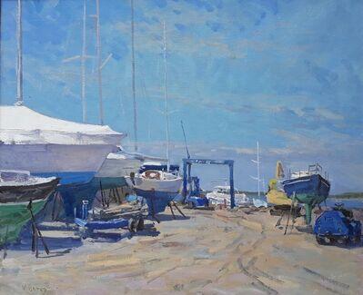 Victor Butko, 'Bay Street Yacht Yard', 2018